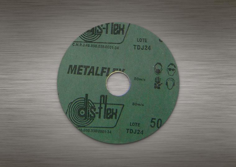 disco de lixa traseira