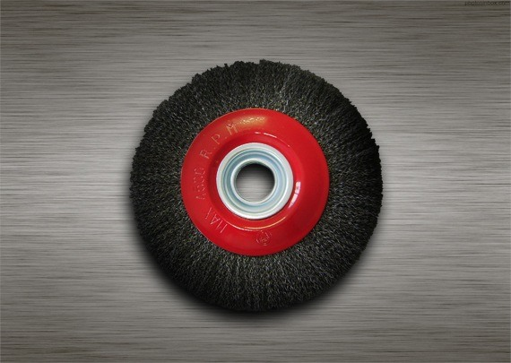 Escova Circular 6x3/4 Aço Carbono