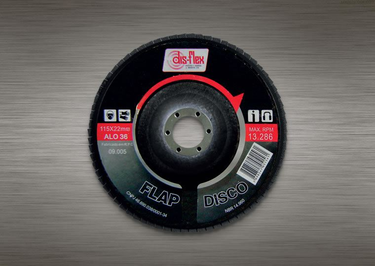 Flap Disc em Óxido de Alumínio METALFLEX