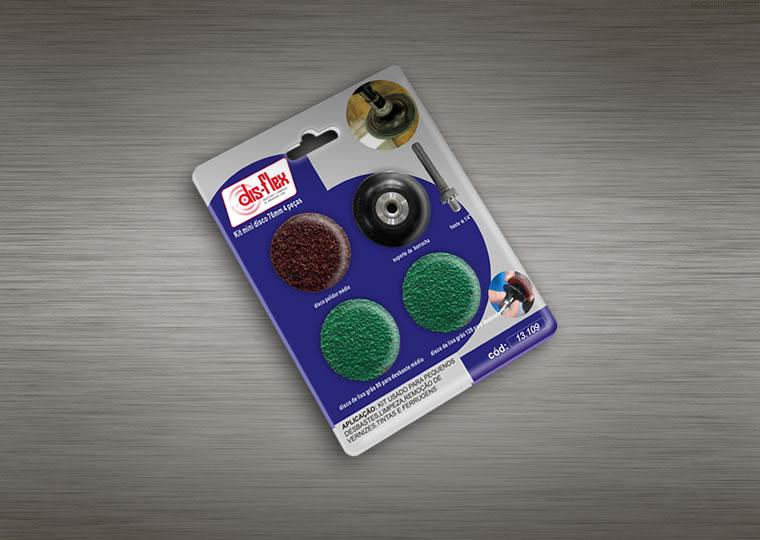 Kit Mini Disco Quick Lock