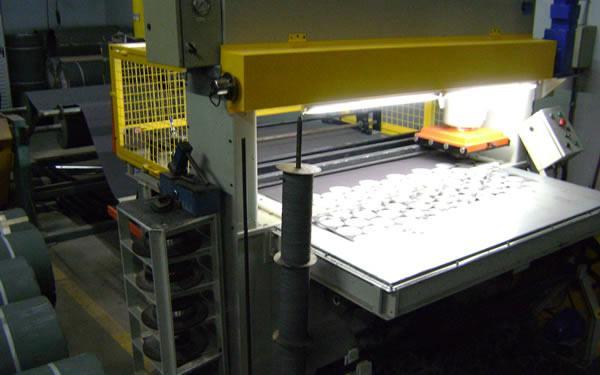 linha de produção industria